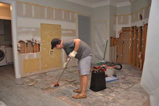 Fears of Home Remodeling