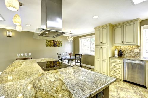remodeling home with granite